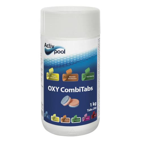 activpool oxy combitabs.1kg. pooltech aps dk