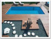 Achensee pool - Styropor sten
