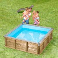 børne træ pool.4. swimmingpool. pooltech dk aps
