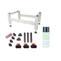 Stativer, rengøring og udstyr
