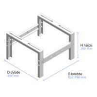 montagestativ jordstativ markstativ.dimensions.ptech .pooltech.prodimg vm211eI